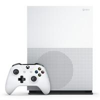 银联爆品日: Microsoft 微软 Xbox One S 1TB 游戏机(数字无光驱)