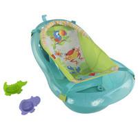 京東PLUS會員 : Fisher-Price 費雪  GDT77 新生兒浴盆 熱帶雨林伙伴