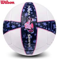 wilson威爾勝GLP040M排球小馬寶莉5號粉色中學生考試專用排球