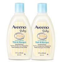 61预售:Aveeno 艾维诺 儿童洗发沐浴露二合一 354ml 2瓶