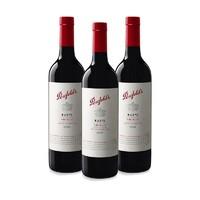 双11预售、考拉海购黑卡会员:Penfolds 奔富 麦克斯西拉 赤霞珠干红葡萄酒 750ML*3瓶
