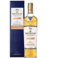 Macallan麦卡伦 双雪莉桶灿金 单一麦芽苏格兰威士忌 700ml
