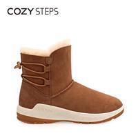 COZY STEPS 82AD7D61401 羊皮毛一体 女士雪地靴