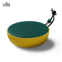 威发(Vifa)City 音响 音箱 免提通话音箱 便携式户外迷你音响 室内低音炮 桌面音响 柠檬绿 *2件