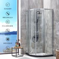 JOMOO 九牧 M3E11-3A01-JMD 扇形淋浴房