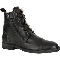 馬術運動堅實 耐用 系帶靴子 短靴 馬靴 FOUGANZA Training 700