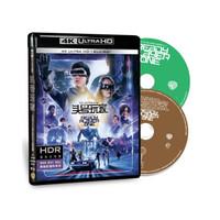 《頭號玩家》4K UHD藍光雙碟版(藍光碟 BD100+BD50)
