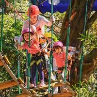 有效期至8月底!专业教练指导!广州天鹿湖飞越丛林探险乐园单人票