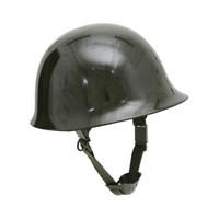 新品兵行者藏青鋼制軍迷用頭盔 防護鋼盔  安保安全防護盔 迷彩 黑色 軍綠色可選 軍綠色