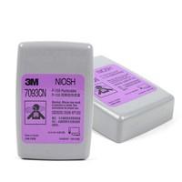 3M 7093防顆粒物帶外殼濾棉防粉塵電焊煙玻璃纖維霧霾工業粉塵