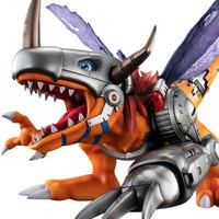 玩模总动员:MegaHouse GEM《数码宝贝》 机械暴龙兽 手办