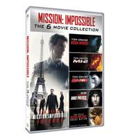 《碟中諜六部曲 》DVD珍藏版加 諜影重重5部曲珍藏版 +湊單品