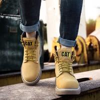 CAT卡特 BT70042 中性款經典工裝靴