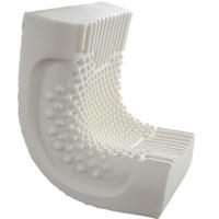 水星家纺 乳胶枕泰国天然乳胶 40x60x10-12cm