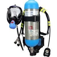 東安 3C認證消防正壓式空氣呼吸器RHZK6.8L 碳纖維防毒面具防煙面罩帶藍牙聯網消防救援自救呼吸器自給式空呼