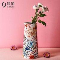 京东PLUS会员:佳佰 美式Lilies系列花瓶