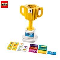 百亿补贴、历史低价:LEGO 乐高 节庆套组 40385 奖杯