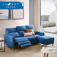 LAZBOY 乐至宝   GN.603 现代简约布艺功能沙发组合  三人位+凳