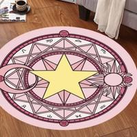 亞亨 可愛圓形地毯 直徑60cm 多款可選