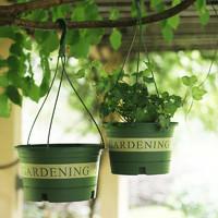 加厚大號吊蘭花盆塑料懸掛式加侖吊籃花盆室內垂吊綠蘿常春藤掛盆