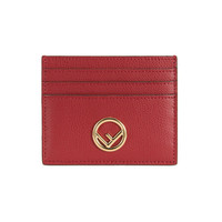 FENDI 芬迪 8M0269 A18B F0MVV 女士紅色牛皮卡包 *2件
