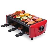 克來比(KLEBY)電燒烤爐 家用無煙韓式電烤盤 雙層配6手盤 中號 KLB9062