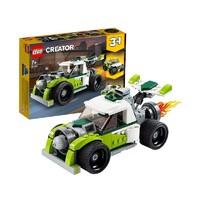 61预售、考拉海购黑卡会员:LEGO 乐高 创意百变系列 31103 火箭车