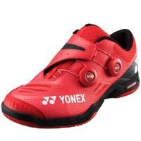 YONEX尤尼克斯羽毛球鞋專業yy羽鞋SHBIF英菲尼迪男款比賽訓練減震耐磨 紅色 42