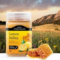 新西兰Streamland新溪岛 柠檬蜂蜜 500g*2