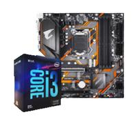 intel 英特爾 Core i3-9100F 盒裝CPU處理器