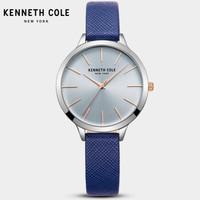 海鷗贈品 炫彩簡約貝母盤石英皮帶KC女表手表 KC15056003
