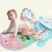 beiens 貝恩施 嬰兒玩具0-1歲 兒童健身架 +湊單品
