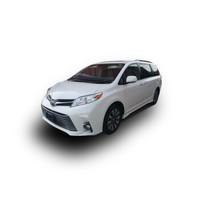 豐田塞納2020款兩驅XLE真皮新車MPV平行進口車 白色