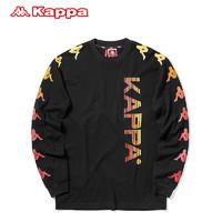 Kappa卡帕 BANDA串標男款運動衛衣圓領外套新款|KPAQCTC81M