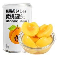 味品堂新鲜糖水黄桃罐头425g*5 罐