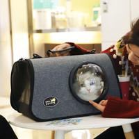 貓包太空艙寵物包外出便攜包透明貓包外出