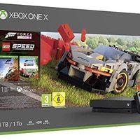 中亚Prime会员: Microsoft 微软 Xbox One X 游戏主机+《地平线4》+《乐高竞速》