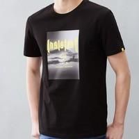 HLA 海澜之家 HNTBJ2R281A 男士短袖T恤 *3件