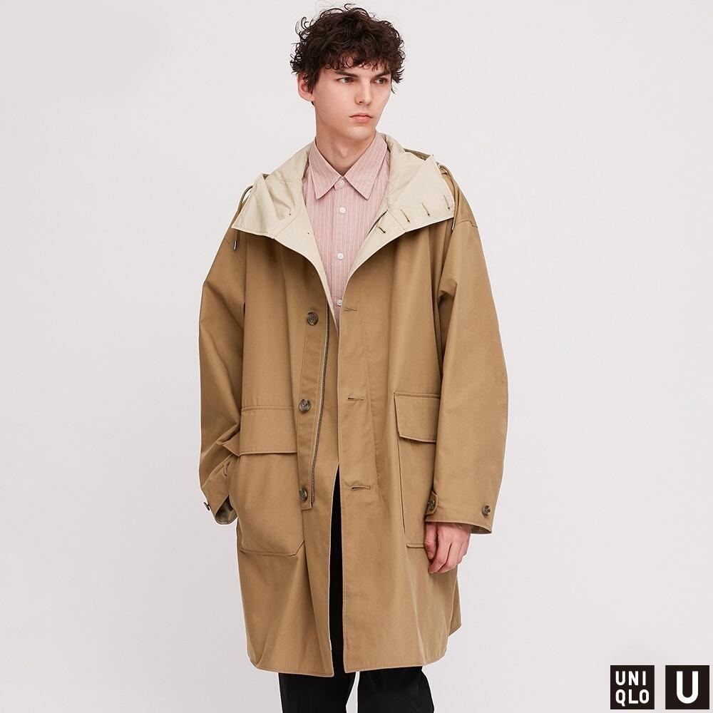 UNIQLO 优衣库 426033 男士连帽大衣