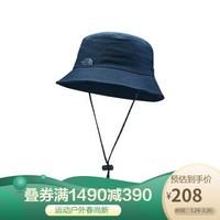 TheNorthFace北面2020春季遮陽防護運動帽男女通用戶外|3VWX H2G/藍色 XL