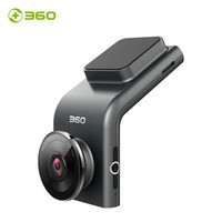 360行車記錄儀 G300 迷你隱藏 高清夜視 無線測速電子狗一體 黑灰色 64g卡組套產品