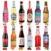 全球不同品牌水果啤酒 12瓶 *3件