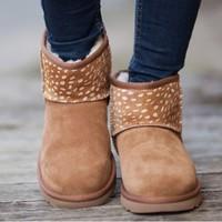 考拉海购黑卡会员:UGG Classic Mini Idyllwild系列 女士雪地靴