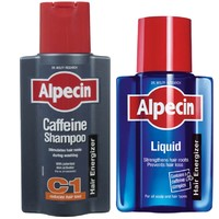 Alpecin 咖啡因防脱育发(洗发露C1 250ml+营养液200ml)