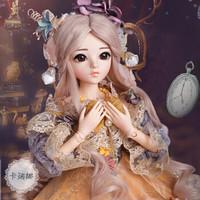 多麗絲凱蒂娃娃 巴比娃娃套裝大禮盒60厘米3分改妝洋娃娃