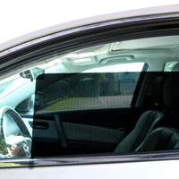 Gabree 佳百麗  JBL-143-A 汽車遮陽擋 車載車用隔熱防曬靜電膜通用側擋 4片裝 *8件