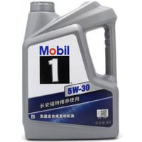 福特(FORD) 原廠美孚1號全合成機油SN 5W-30 4L裝 (贈福特 (FORD) 原廠空調格 )