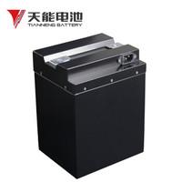 天能電動車電池高端黑金剛三元鋰鋰電池60v20ah鋰離子電瓶