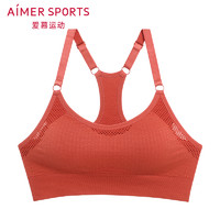 Aimer sports AS116E63 女士熱力健身一體織薄杯背心式文胸
