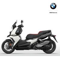 BMW 寶馬 C400X 摩托車 雪山白